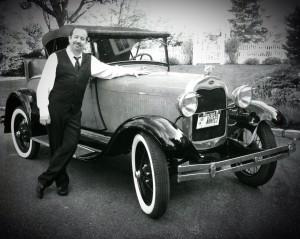 Wade 1920's Cabriolet b&w
